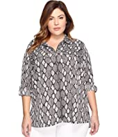 MICHAEL Michael Kors - Plus Size Peloplia Dog Tag Top