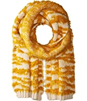 BCBGMAXAZRIA - Textured Animal Knit Muffler