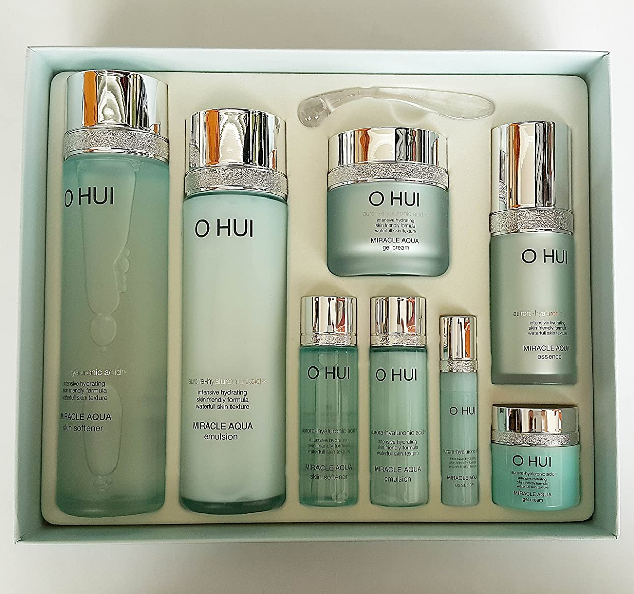 消費直径彫刻Ohui Miracle Aqua Basic 4-piece Special Gift Set 2015 New[行輸入品]