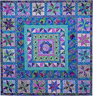 Kaffe Fassett Cool Imari Quilt Kit from Quilts in Cotswolds (Top and Binding)