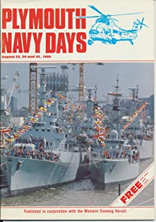 Plymouth Navy Days Programme 23rd, 24th, 25th, August 1986