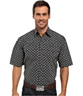 Stetson - Paisley Dot Short Sleeve Woven Snap Shirt