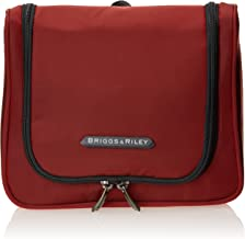 Briggs & Riley Hanging Toiletry Kit, Crimson, One Size