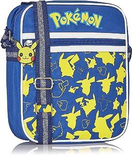 Pokémon Sac À Bandoulière Pikachu Pour Enfant Et Ado | Petit Sac Messenger Pour Sorties, Festivals Ou Vacances | Sacoche É...