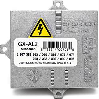 Replacement Xenon HID Ballast for BMW, Mercedes, Audi, Land Rover Headlight Control Unit Module Replaces 307 329 074, 63127176068, 307 329 090, others - Warranty