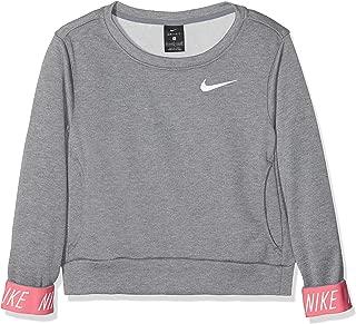 Nike Big Girls Graphic-Cuff Pullover Sweatshir