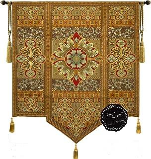 Fabric Bureau Beautiful Road to Moroccan Large Fine Tapestry Jacquard Woven Wall Hanging Art Decor