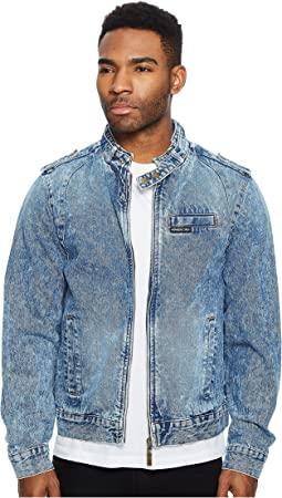 Members Only - Denim Iconic Racer Jacket