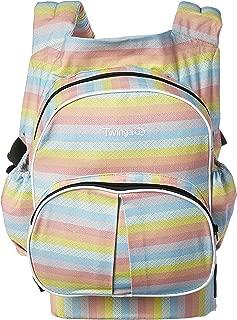 Stuff 4 Multiples Twingaroo Double Baby Carrier- Rainbow Edition, Rainbow