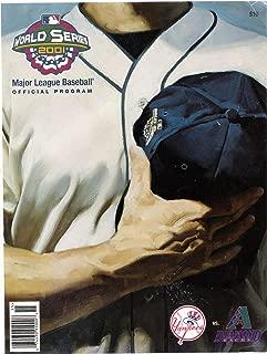 World Series 2001 MLB Official Program Yankees vs Diamondbacks