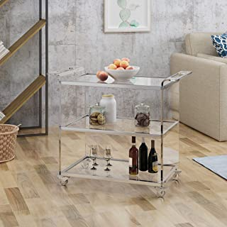 Best acrylic trolley cart Reviews