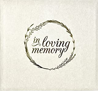 MCS in Loving Memorial Photo Album, 13.5 x 12.5, Ivory