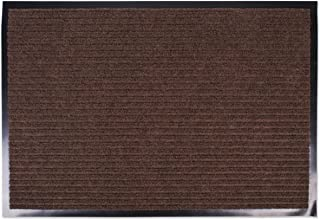 J&M Large Utility Doormat Heavy Duty Durable Indoor/Outdoor Ribbed and Waterproof 30x48