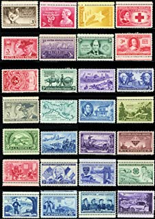 PACK 1-50 Different Mint Vintage Collectible 3 Cent U.S. Postage Stamps All Over 60 Years Old