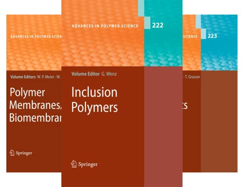 Advances in Polymer Science (50 Book Series)
