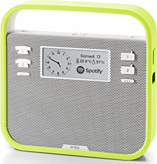 (Green) - Smart Portable Speaker with Screen Compatible with Amazon Alexa, Green