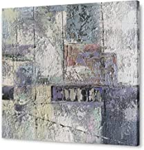 Yihui Arts Hand Painted Abstract Art Wall Decor Heavy Texture Painting Pictures with Framed for Living Room Decoration