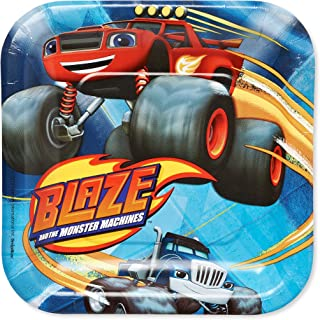 Blaze and the Monster Machines Square Plates, 7