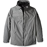 Tommy Hilfiger Men's Size Tall Mountain Cloth 3-in-1 Systems Jacket