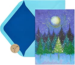 Papyrus Holiday Cards Boxed, Tree Under Moon (14-Count)