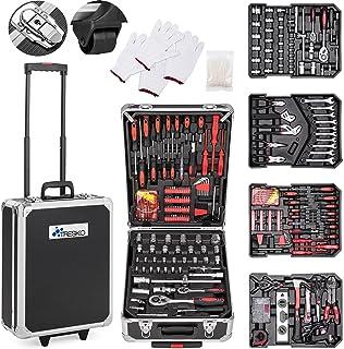 comprar comparacion TRESKO® Maletín de Herramientas 949 Piezas | Portaherramientas Portátil | Set/Caja con herramientas | Maleta de Cromo Vana...