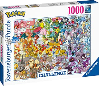 Ravensburger 15166 Pokemon 1000pc Challenge Jigsaw Puzzle,
