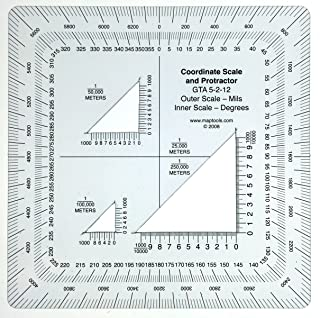 MapTools Military Style UTM/MGRS Coordinate Scale