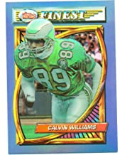 1994 Finest Refractor Calvin Williams #2 - Philadelphia Eagles - Football Card