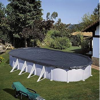 Gre CIPROV501 - Cobertor de Invierno para Piscina Ovalada de 500 x ...