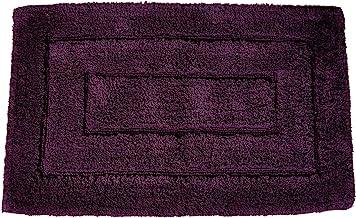 Kassatex KDK-2032-PLU Kassa Design Bath Rug, 20 by 32-Inch, Plum