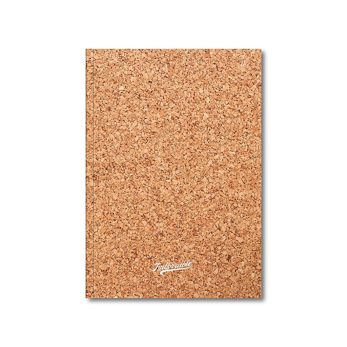 Imborrable?–?A5 Notebook, 96?Pages, Dotted Grid Paper, Cork, 14.8?x 21?cm