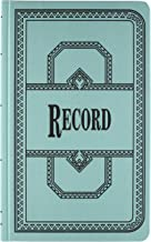 Borrum & Pease 66 Series Account Books, Record Ruling, 300 Pages, 12-1/8ʺ x 7-5/8ʺ, Blue (66-300-R)