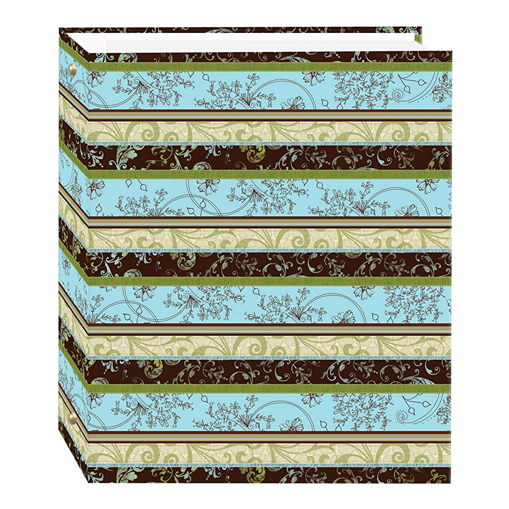 Magnetic Self-Stick 3-Ring Photo Album 100 Pages (50 Sheets), Lots of Pattern Design