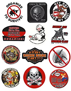 Dirty Dozen Hard Hat Sticker Mix 5
