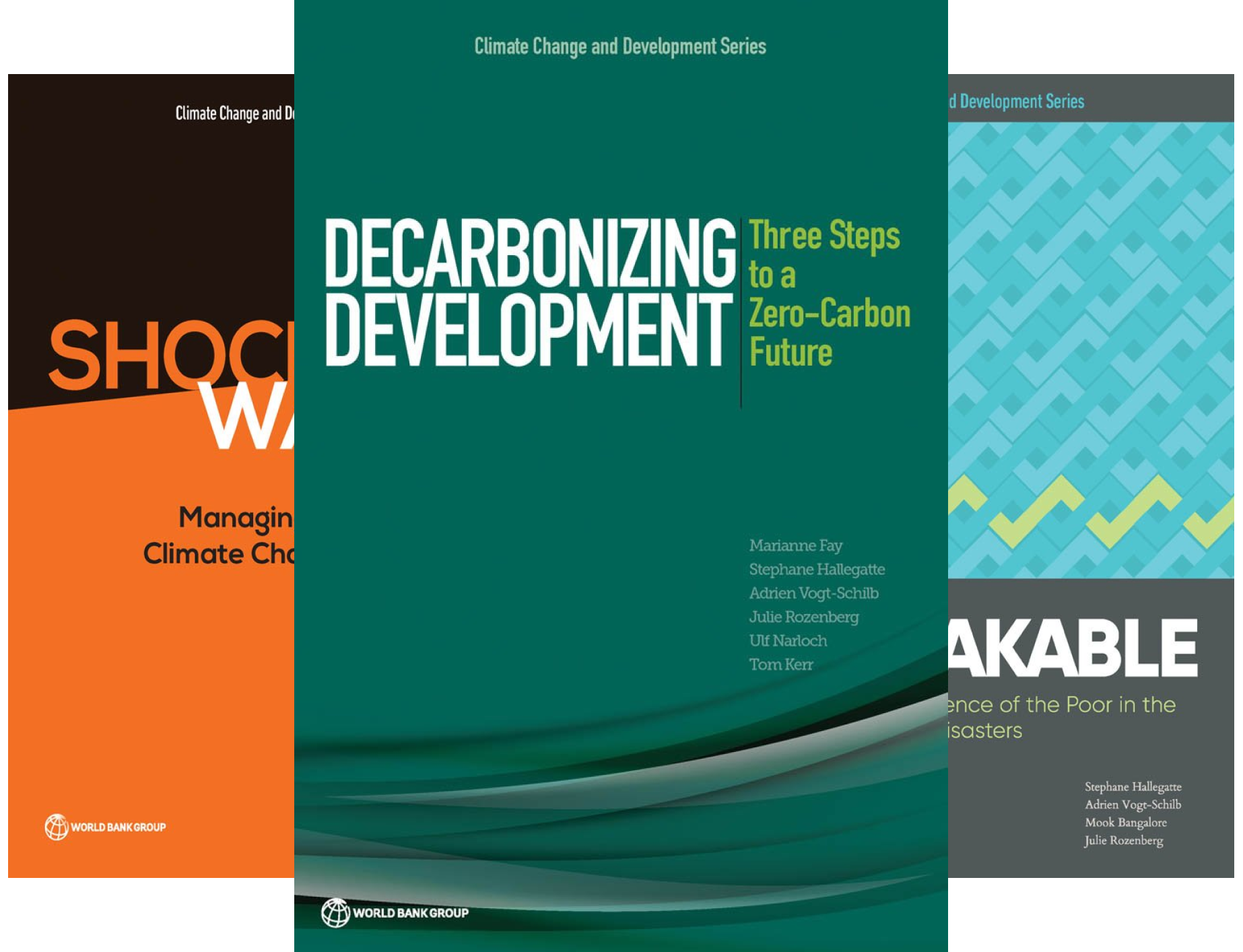 Climate Change and Development (4 Book Series)