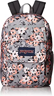 JanSport Unisex Digital Student Coral Sparkle Pretty Posey One Size
