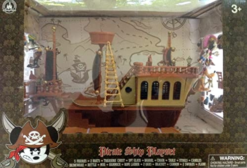 Mejor precio Disney's Deluxe Mickey Mouse Pirates of the Caribbean Pirate Pirate Pirate Ship Play Set - Theme Park Edition by Pirates of the Carinnean  perfecto