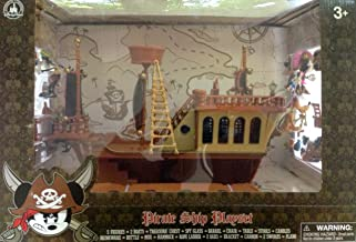 Disney's Deluxe Mickey Mouse Pirates of the Caribbean Pirate Ship Play Set - Theme Park Edition