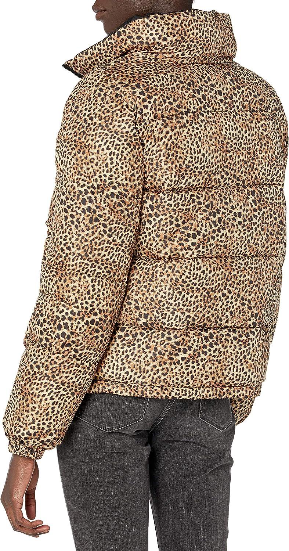 BB Dakota by Steve Madden Women's Cool Kitten Reversible Puffer Coat