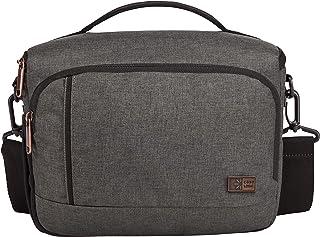 Case Logic ERA DSLR Camera Shoulder Bag, Grey (Obsidian), 25 centimeters, Casual Daypack