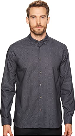 Lamonic Long Sleeve Printed Shirt