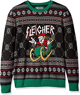 Ugly Christmas Sweater Men's Passed Out Santa