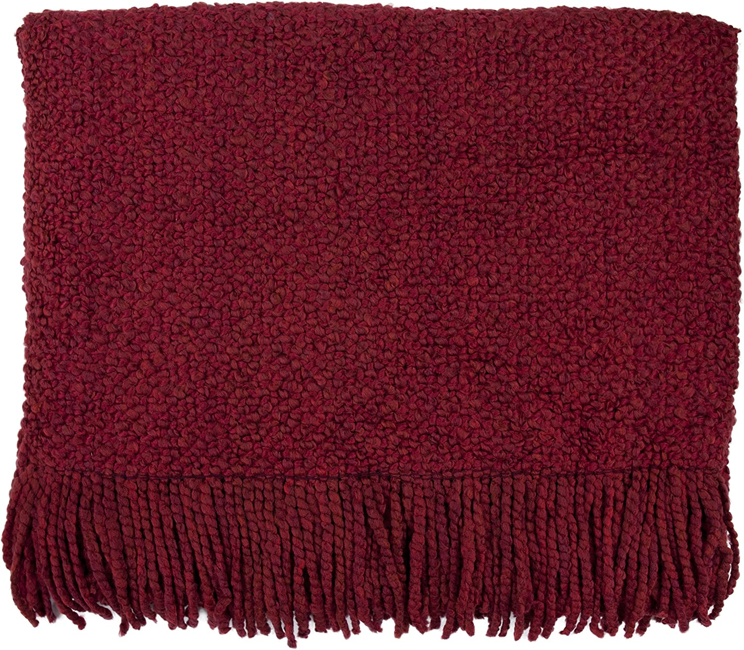 Bedford Cottage Campbell Throw Blanket, Scarlet