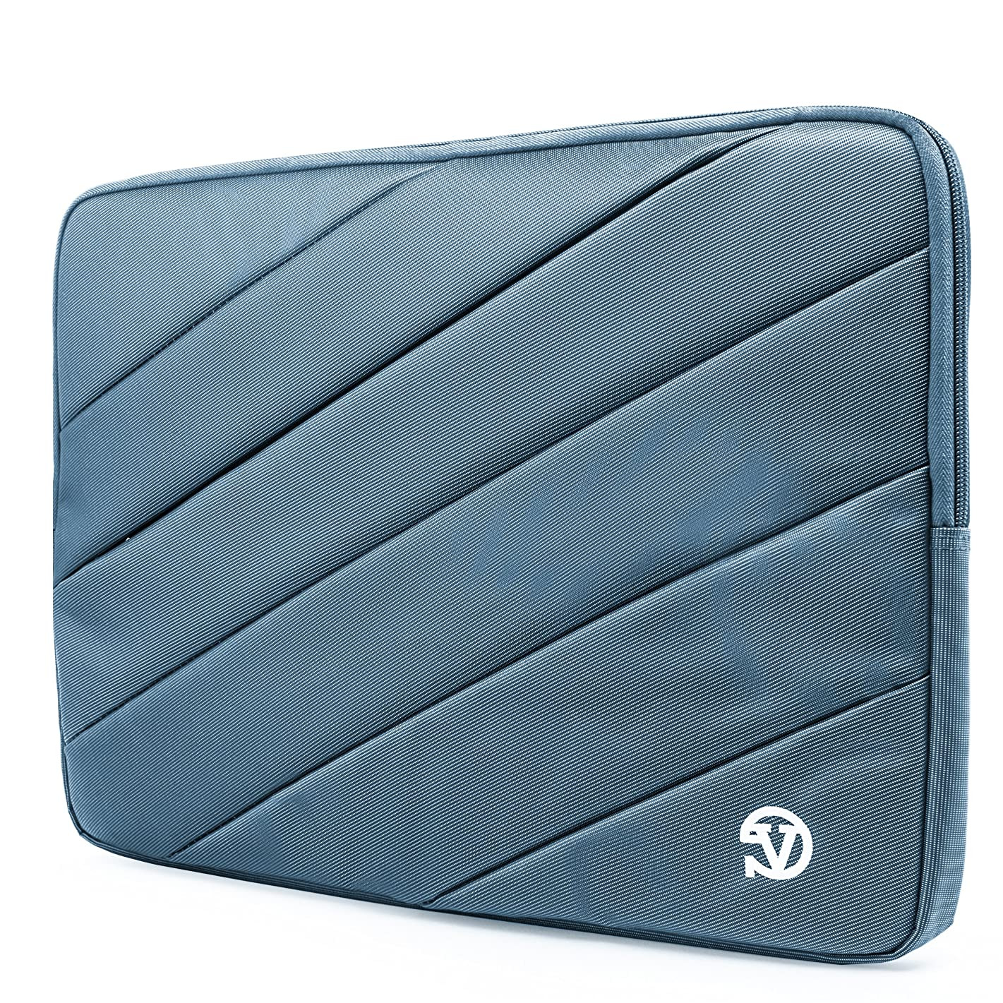 VanGoddy Sky Blue Shock Absorbing Sleeve Fit for AOC I1659FWUX, E1659FWUX, E1659FWU, I1601FWUX 16-inch Portable Monitor