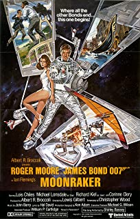 The Gore Store Moonraker Movie Poster (1979)