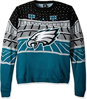 eagles light up sweater