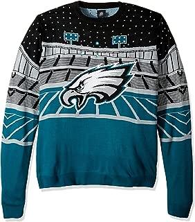 FOCO NFL Philadelphia Eagles Mens Light Up Bluetooth Speaker Sweaterlight Up Bluetooth Speaker Sweater