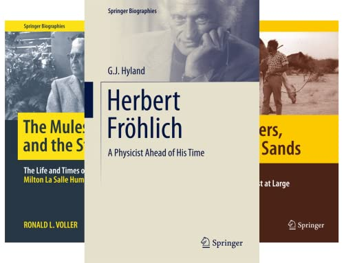 Springer Biographies (44 Book Series)