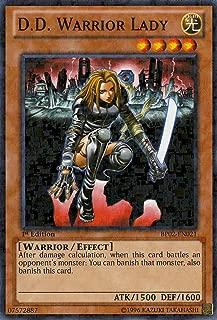 Yu-Gi-Oh! - D.D. Warrior Lady (BP02-EN021) - Battle Pack 2: War of the Giants - 1st Edition - Mosaic Rare