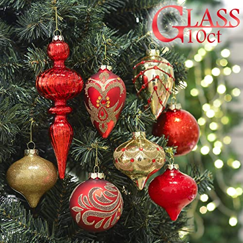 Red And Gold Christmas Decorations Amazoncom
